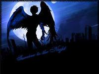 К человеку обратился ангел